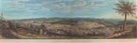 panorama vom heiligenlandhubel/bei affoltern by rudolf huber