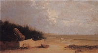 early morning, long island by william huston