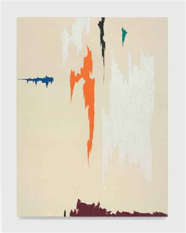 untitled ph 786 r by clyfford still