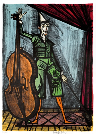 mon cirque bk w44 works by bernard buffet