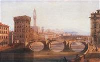 the ponte santa trinita, florence by joseph josiah dodd