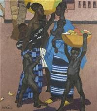 femmes et enfants, guinée by marcelle ackein