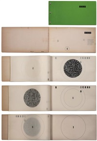 notebook (bk.w/22 works) by mira schendel