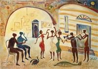dancing in the street by hamed nada