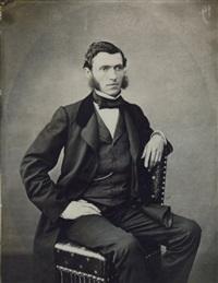 portrait d'homme assis by adolphe bilordeaux
