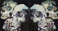 six skulls (diptych) by ben quilty