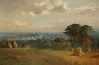 aberdeen from the north by thomas bunting