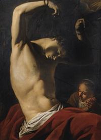 saint sébastien by michelangelo merisi da caravaggio