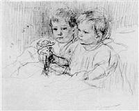 deux enfants by louis guiguet