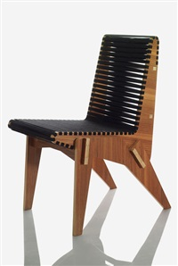 bolivian plywood chair black by abbott miller