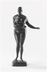 woman (standing figure) by gaston lachaise