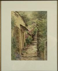 stone steps, nantucket by jane brewster reid