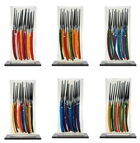 color strokes paintbrushes set of 6 by arman