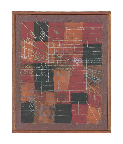 perspektive figuration by paul klee