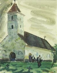 church in sambata de sus by alexandru phoebus