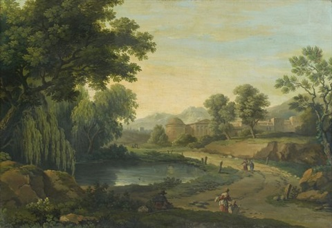 paysages classiques pair by carlo labruzzi