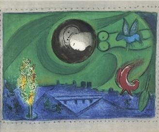bercy wharf paris siries by marc chagall