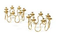 paire de petits chandeliers pour le centre de la table (pair) by josef frank