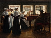 morning prayer by walter firle