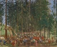 waldfest by albert janesch