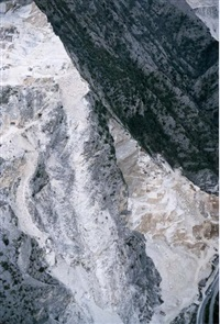 carrara (the marble quarries) by aglaia konrad