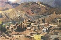 kasbah aux pieds des montagnes by max flegier