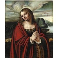 santa caterina by giovanni agostino da lodi
