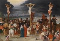 kreuzigungsszene by frans francken iii