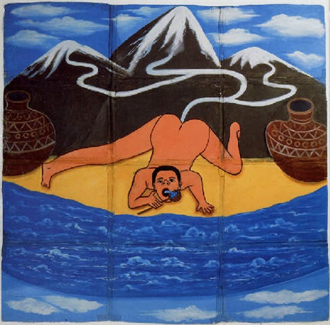 al mare o in montagna by francesco clemente