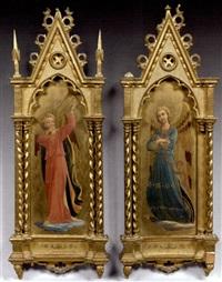 panneaux représentant des anges (pair) by fra angelico