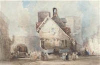 figures in a continental square by samuel austin