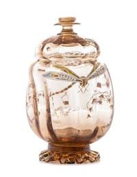 covered jar by émile gallé