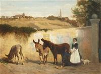 paris, montmartre en 1866 by alfred auteroche