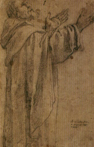frate domenicano study another study verso by lionello spada