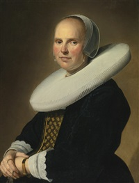 portrait of a lady by johannes cornelisz verspronck