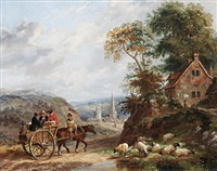 the market cart by dean wolstenholme the younger