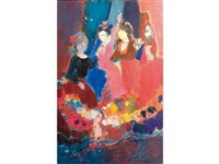 danseuses espagnoles by lydia vajda