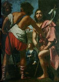 le décollation de saint jean-baptiste by felice (il risposo) fischerelli