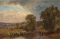 summer landscape by james mcdougal hart