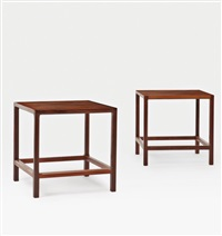 bedside tables (pair) by haslev