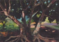 untitled - shade tree by mabel irene lockerby