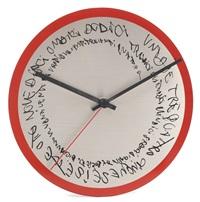 orogio wall clock by alighiero boetti