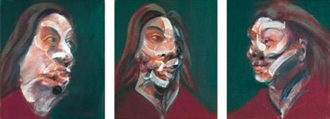 three studies of isabel rawsthorne by francis bacon