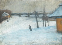 zima w krakowie by artur markowicz