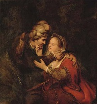 judah and tamar by aert de gelder