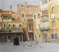 square in italy by norman hepple