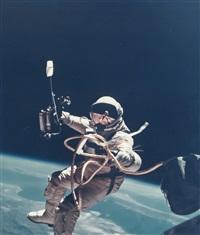 first us spacewalk - ed white's eva over new mexico, gemini 4, 3 june 1965 by james mcdivitt