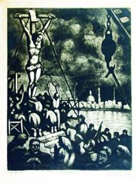 procesión a bordo by benito quinquela martín