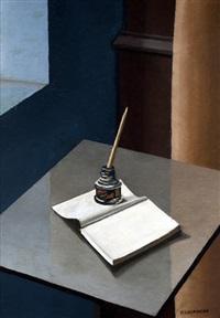 interior con tintero (estudio) by fortunato lacamera