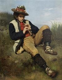 the shepherd boy by tadeusz ajdukiewicz